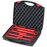 Insulated Ratchet Offset Wrench Set (Set of 7)
