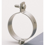 Suspended Pipe Bracket, Stainless Steel TN Suspended Band