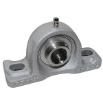 Aluminum Series Pillow Block Unit with Set Screws, Cylindrical Hole Shape, MUCAP