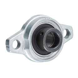 Rhombus Flange Unit, Silver Series, Cylindrical Hole Shape with Eccentric Ring, UFL
