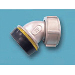 Tube Expansion Fitting for Stainless Steel Pipes, BK Joint, Socket 45° Elbow