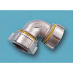 Tube Expansion Fitting for Stainless Steel Pipes, BK Joint, 90° Elbow 316