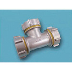 Tube Expansion Fitting for Stainless Steel Pipes, BK Joint, Tee 316