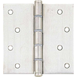 125, Flat Instrustar Hinge (with Nylon Ring)