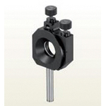 Upper operation type gimbal type mirror holder