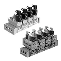 Individual Wiring Manifold M4F4/5/6/7 Series Solenoid Valve Single Unit