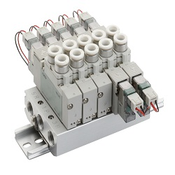 Individual wiring manifold M3/4GA1/2/3R-(D) series single unit