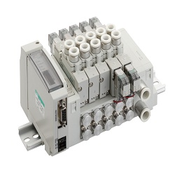 Wire-Saving Block Manifold, MN4GA1/2R-T * Series Valve, Unit