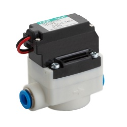 Pilot Type 2 Port Valve Compact Air Blow Valve EXA-FP2 Series for Food Manufacturing Processes