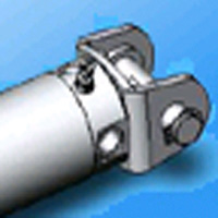 Metal Fitting for SCM, Single Clevis