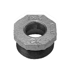Ck Fitting Threaded Transportable Cast Iron Pipe Fittings Bushing