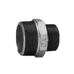 CK Fittings - Screw-in Type Malleable Cast Iron Pipe Fitting - Nipple with Different Diameters