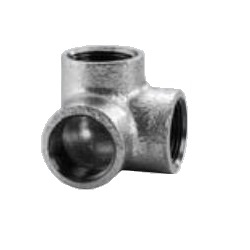 CK Fittings - Screw-in Type Malleable Cast Iron Pipe Fitting - Cross Elbow
