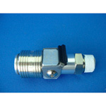Mega Flow x Coupling, Aluminum Male Thread Type