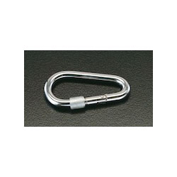 [Stainless Steel] Carabiner with Safety Sleeve EA638JF-8