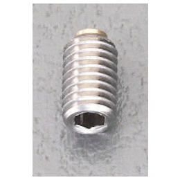 Set Screw with Hexagonal Hole [Stainless steel] (with Brass Pad) EA949DS-4