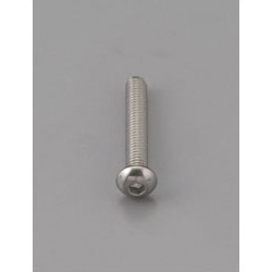 Button Head Bolt with Hexagonal Hole [Stainless Steel] EA949MF-418