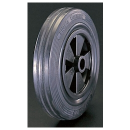 Solid-rubber-tire Polypropylene-rim Wheel EA986MC-100