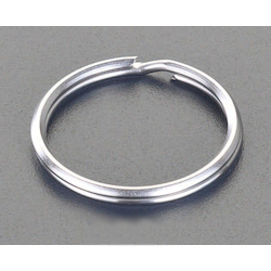 [Stainless Steel] Double Ring (10 pcs) EA638DN-2