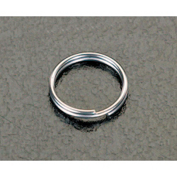 [Stainless Steel] Double Ring (10 pcs) EA638DP-9