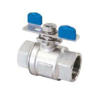 Stainless Steel, 3.92 MPa, Butterfly-Handle Style Full-Bore Ball Valves