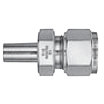 Stainless Steel, Dual Compressed Ring Model, Powerful Lock, (Reducer)