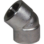 High Pressure Screw Fitting, PT 45° E/45° Elbow