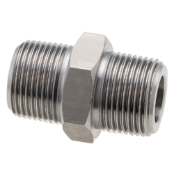 High Pressure Screw-in Fitting PT N/Hexagonal Nipple