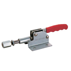 Push-Pull Toggle Clamp with Flanged Base / 12-mm Stroke Plunger, GH-302-DM