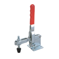 Toggle Clamp - Vertical Handle - U-Shaped Arm (Flanged Base) GH-101-EL