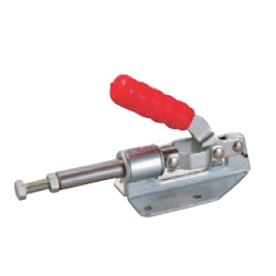 Toggle Clamp - Push-Pull - Flanged Base, Stroke 31.8 mm, Straight Handle, GH-36092M