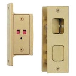 Inset Push Lock with Display / Emergency Unlocking Device (for Door Thicknesses Ranging from 30 - 33)