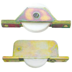Combination S A W Door Rollers for Threshold Rails
