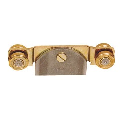 "Suspension Wheels for Door Hanger ""Niko"" (Double Wheel Bearings) (Welded Type)"