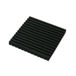 iteck Rubber with Ridges on Both Sides