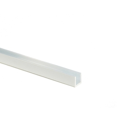 Aluminum Type Aluminum Channel for Hobby (L 300 mm)