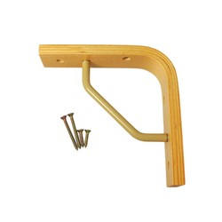 Wooden Shelf Bracket II Type