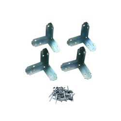 Bright Chromate Three-Sided Bracket