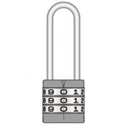 Chord Length Round Combination Lock
