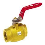 Brass Ball Valve; Full Bore HBS Series Lever Handle Type