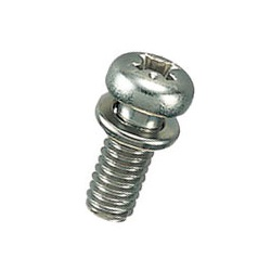 Brass Pan Head Screw Set (SW Included) / B-0000-S