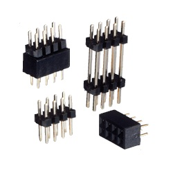 Stacking Terminal (Retracting Type) / HTW Pin Socket (Square Pin), 2.00 mm Pitch, Straight (2 Rows)