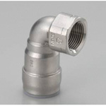 for Stainless Steel Piping, One Touch Fitting, SUSDAKE (Elbow with Female Thread)