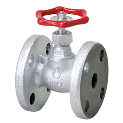 Malleable Valve, General-Purpose, 10K Type, Globe Valve, Flanged