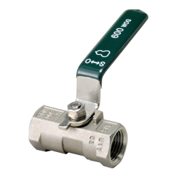 Mini Ball Valve 600 Lb Two-Step Reduced Bore with Thread