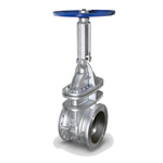 Malleable Valve, 10K Type, Gate Valve, Flange Type, External Thread B・B Type (Nominal Diameter: 350-500)