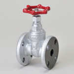 Malleable Valve, General-Purpose 10K Type, Gate Valve, Flange Shape, SUS Sheet