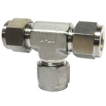 Double Ferrule Type Tube Fitting Union Tee, DTA