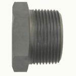 High-Pressure Pipe Fitting, Threaded Pipe Fitting, SPB Hex Plug (Taper-Threaded)