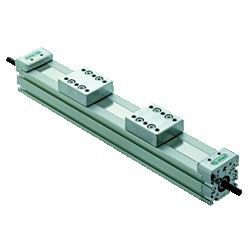 Actuator unit (open and close link type)